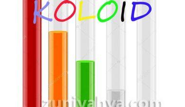 Jenis-jenis Koloid