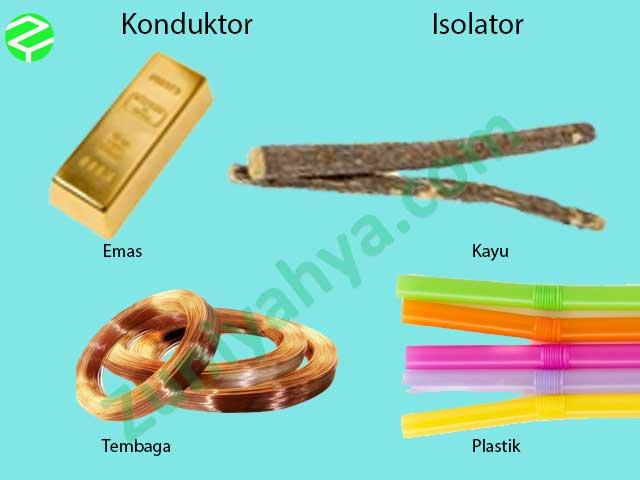 Contoh Benda Konduktor Dan Isolator