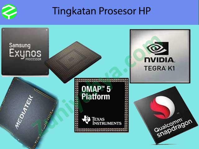 Tingkatan Prosesor HP
