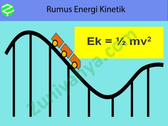Materi Rumus Energi Kinetik Terlengkap Beserta Contoh Soal